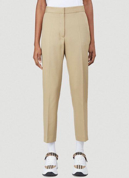 Burberry Classic Tailored Pants in Brown size UK - 12