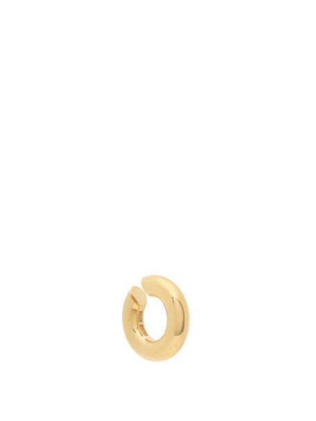 All Blues - Almost Bold 18kt Gold-vermeil Ear Cuff - Womens - Gold