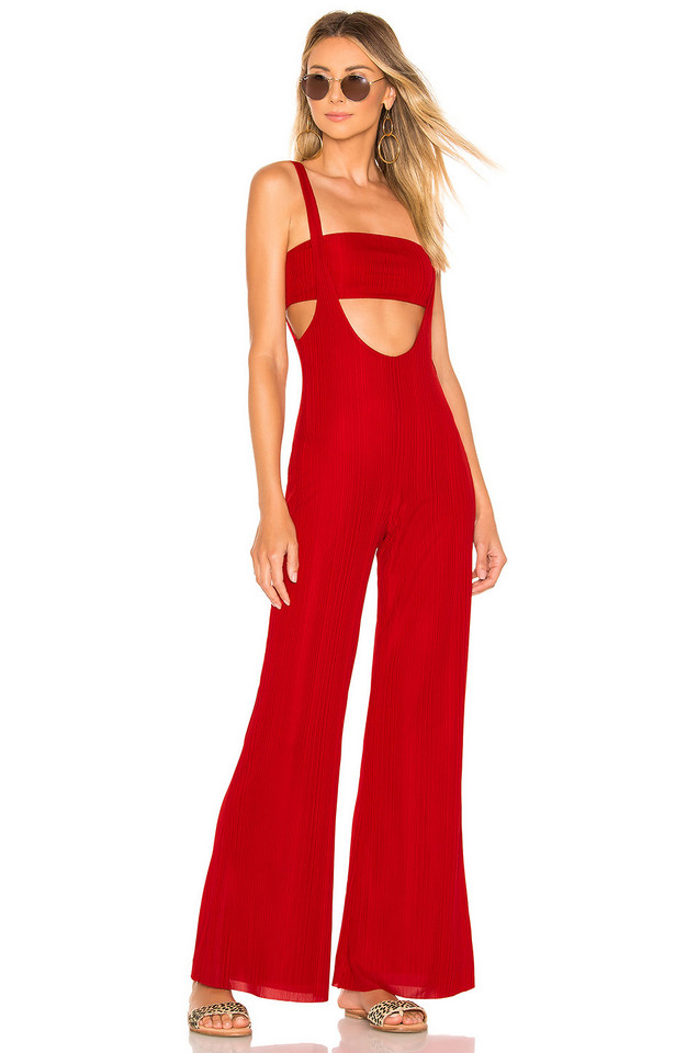 House of Harlow 1960 X REVOLVE Morin Jumpsuit in red