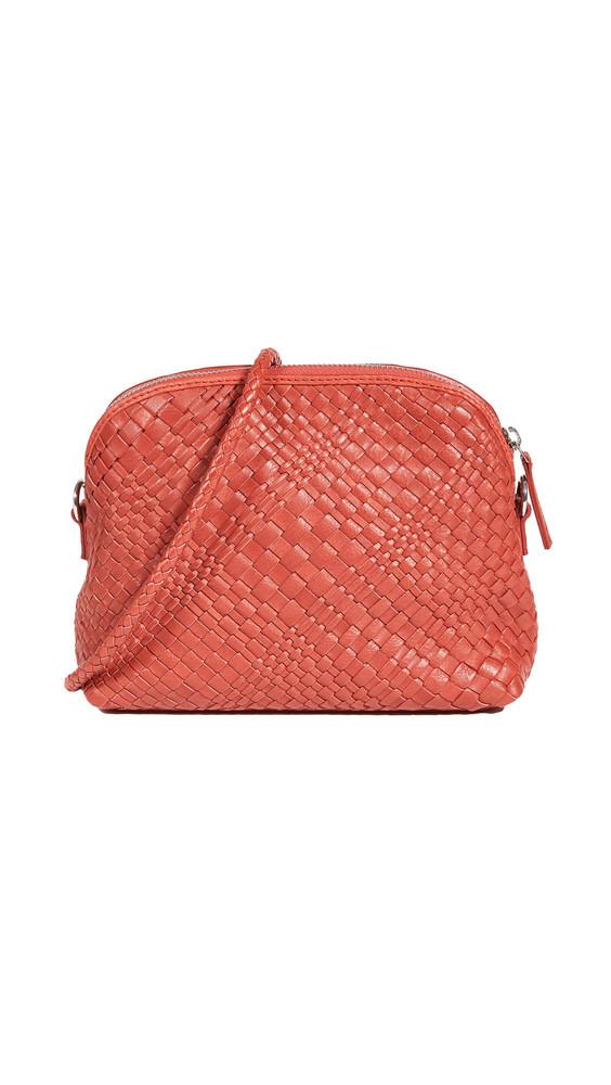 DRAGON DIFFUSION Fellini Pochette Bag in red