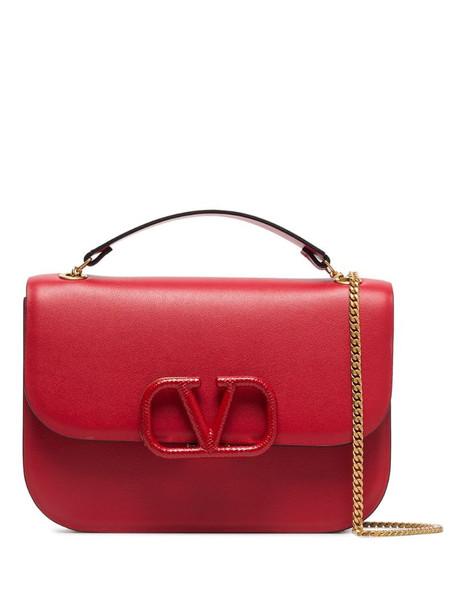 Valentino Garavani VLOGO shoulder bag in red