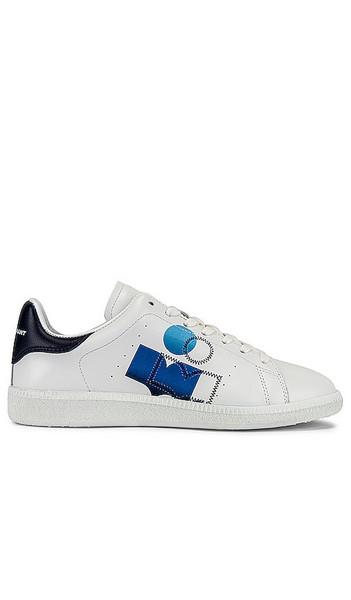 Isabel Marant Billyo Sneaker in White in blue