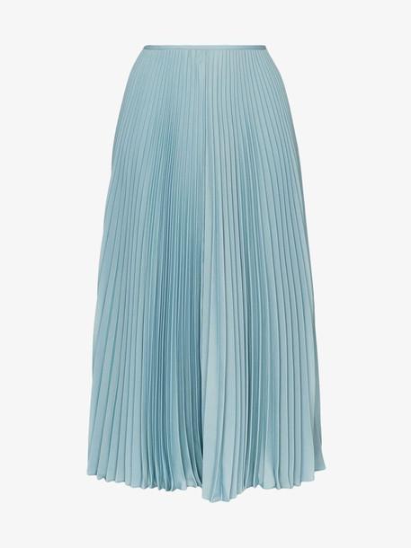 Joseph Abbot pleated skirt in blue