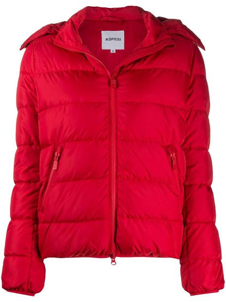 Aspesi Cellerina padded jacket in red