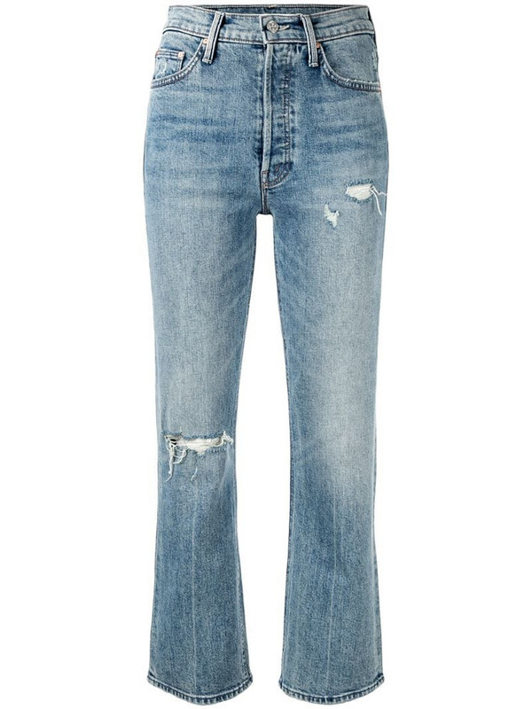 Mother The Tripper bootcut jeans in blue