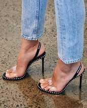 sandals,black sandals,shoes