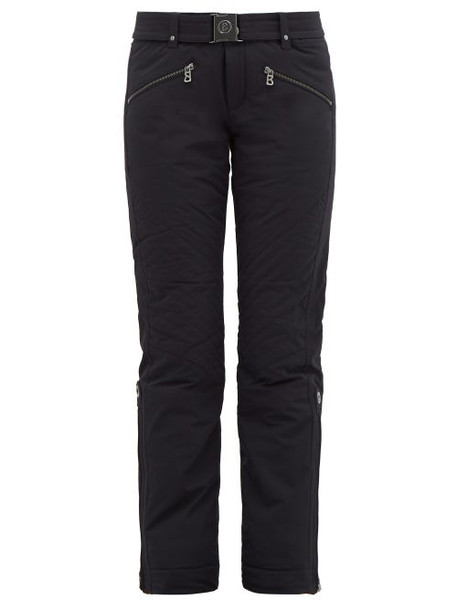 Bogner - Franzi Belted Ski Trousers - Womens - Black