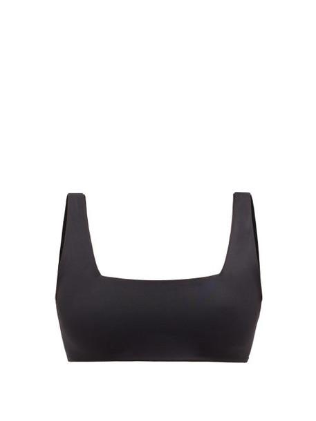 Dos Gardenias - Stein Square-neck Bikini Top - Womens - Black
