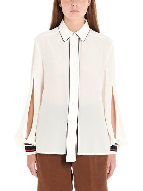 Golden Goose isako Shirt in white