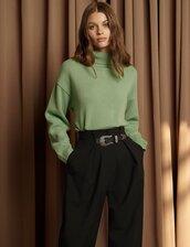 sweater,model,model off-duty,fw,fashion vibe,fashion,mint,green,cashmere,instagram