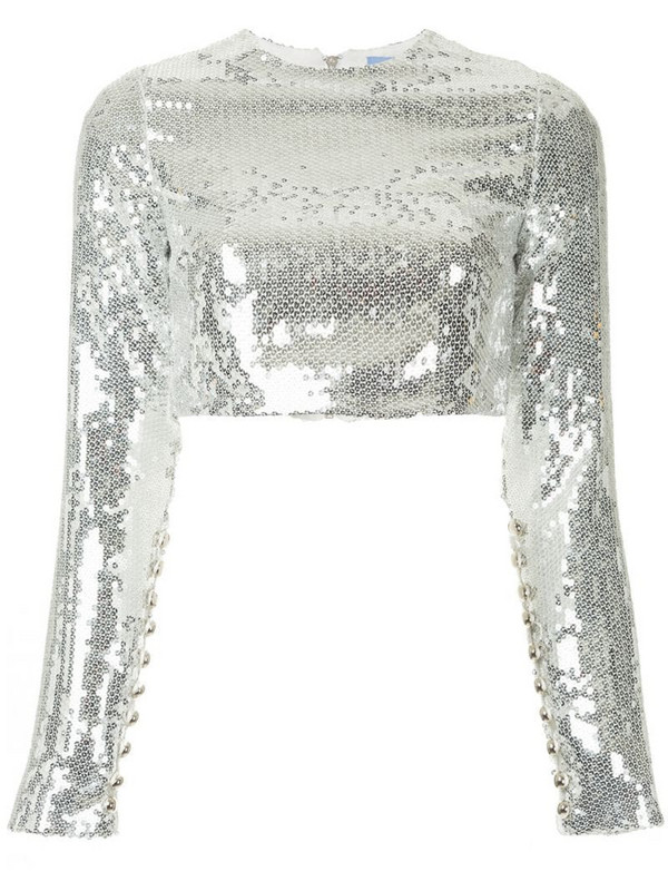 Macgraw Prism blouse in silver