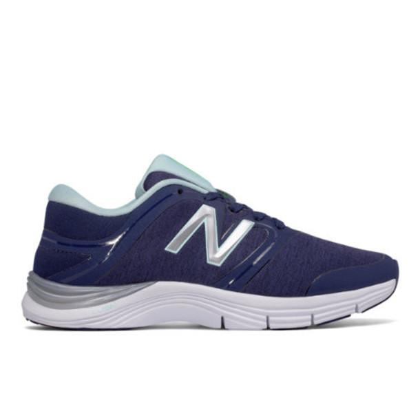 New Balance 711v2 Heathered Trainer Women's Cross-Training Shoes - Navy/Blue (WX711HN2)
