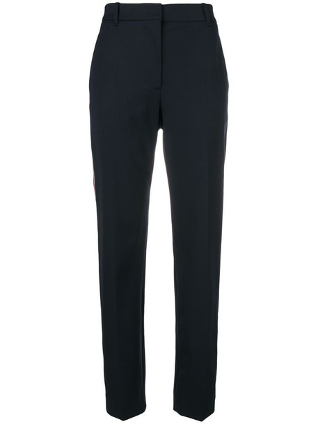 Calvin Klein 205W39nyc side striped track pants in blue