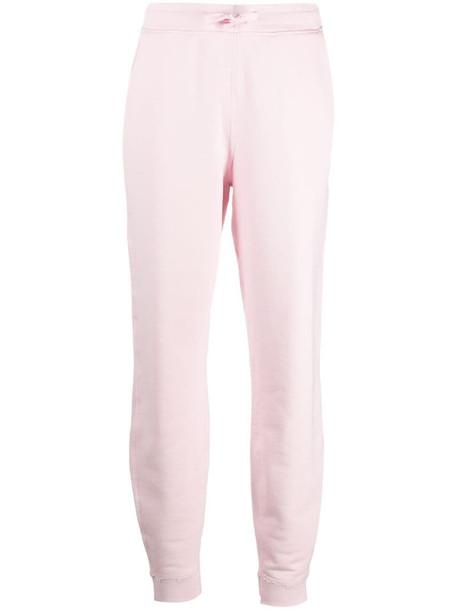 Rag & Bone slim-fit track pants in pink