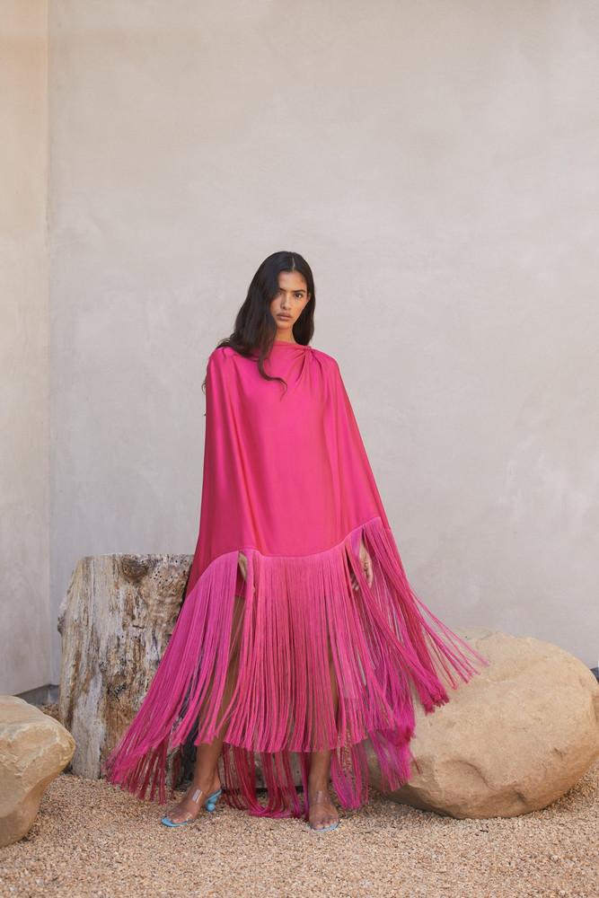 Cult Gaia Annika Dress - Flamingo (PREORDER)                                                                                               $788.00