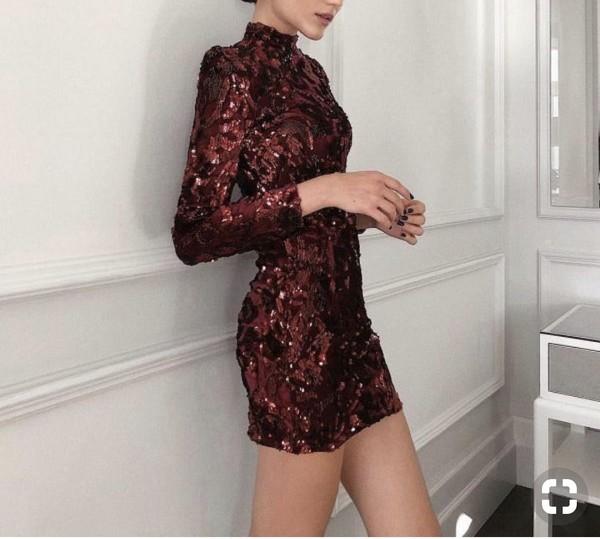 dress shoulder pad mini dress