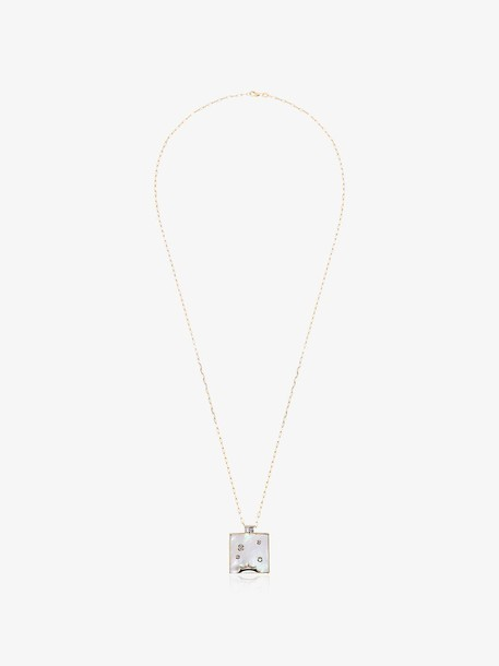 Retrouvai Optimism Necklace in metallic