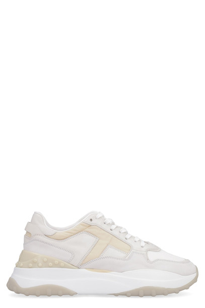 Tods Leather Low-top Sneakers in white