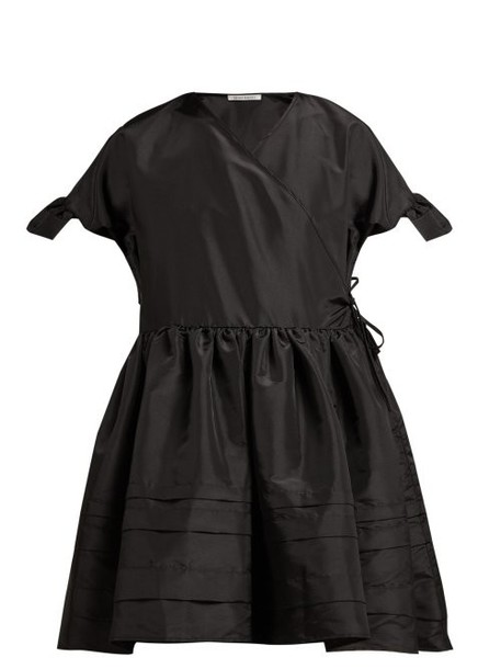 Cecilie Bahnsen - Prisca Satin Dress - Womens - Black