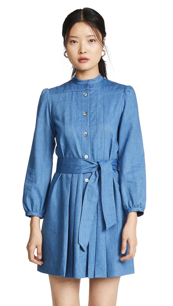 A.P.C. A.P.C. Alba Dress in indigo