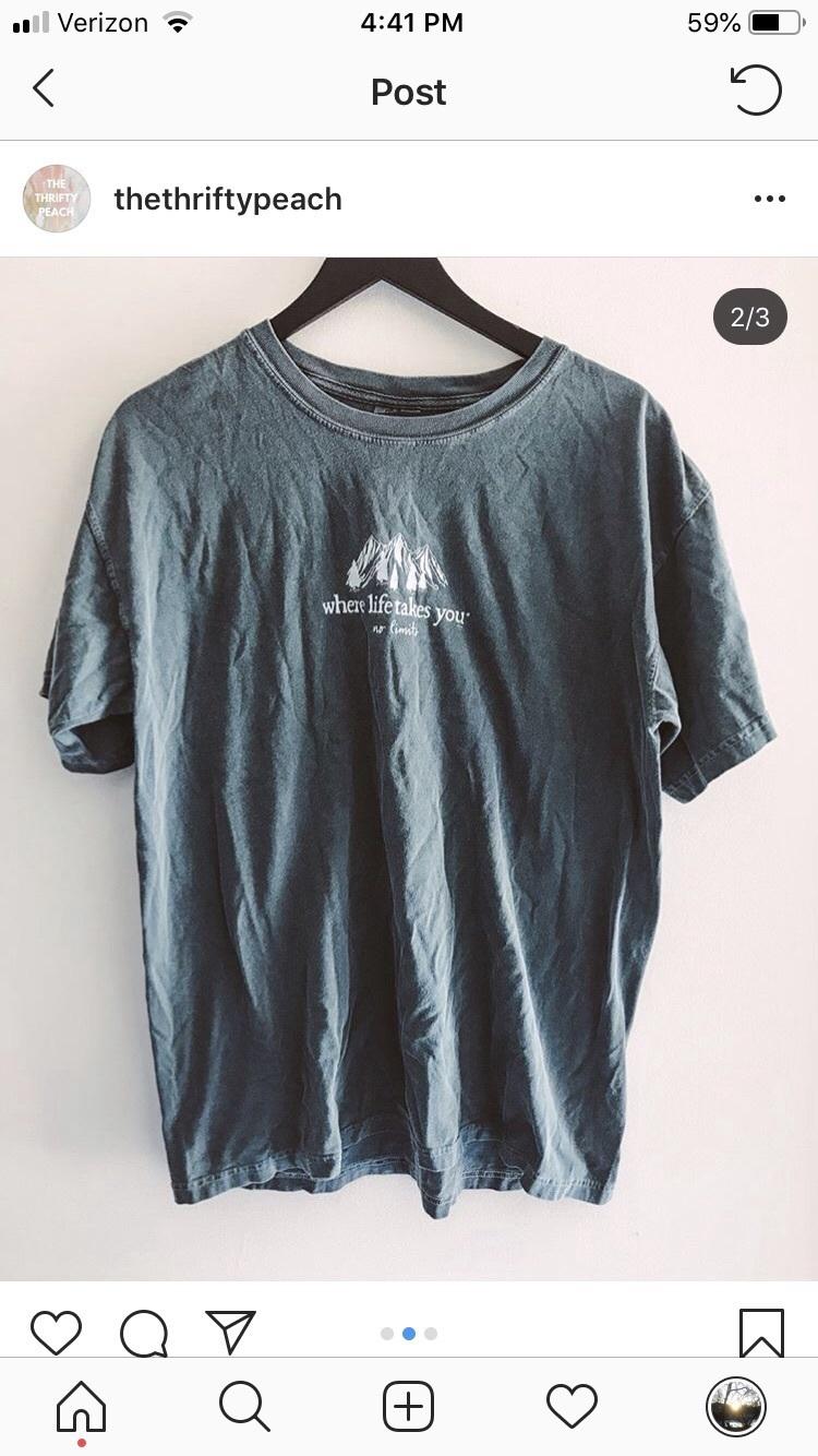 shirt mountain green