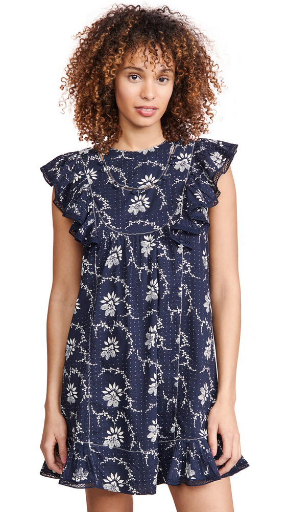 Sea Tatiana Tunic Dress in navy / multi