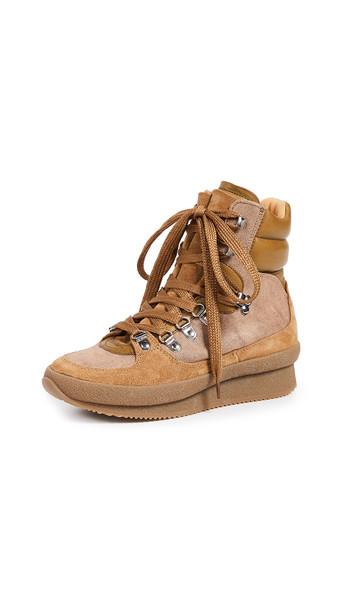 Isabel Marant Brendty Sneakers in khaki