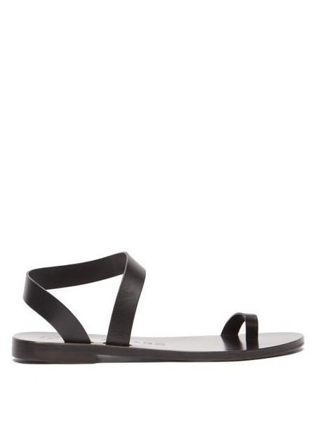 Álvaro Álvaro - Angela Leather Sandals - Womens - Black