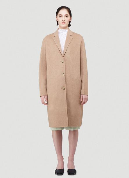 Acne Studios Avalon Wool Coat in Beige size FR - 38