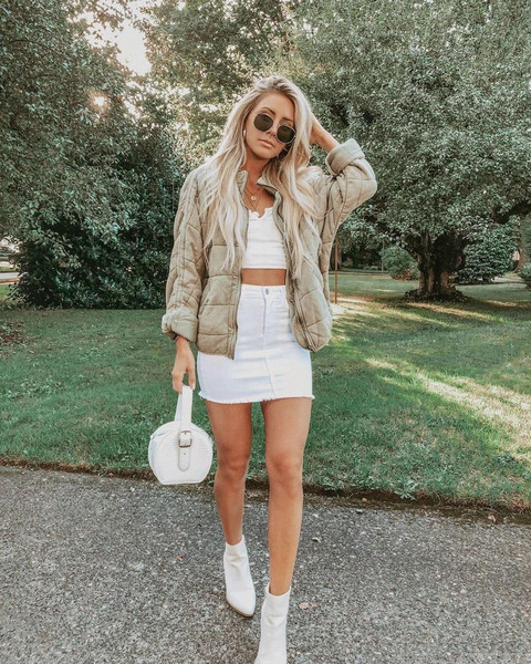 top jacket skirt