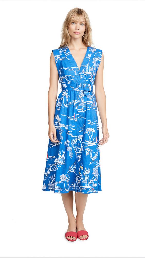 Tanya Taylor Abigail Dress in blue