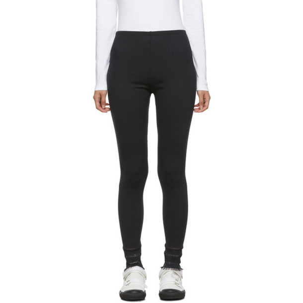 Pleats Please Issey Miyake Black APOC Basics Leggings