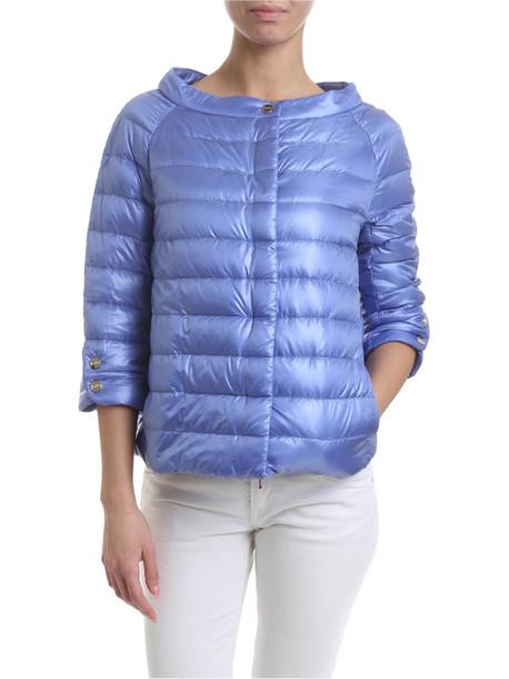 Herno Wide Neck Nylon Jacket