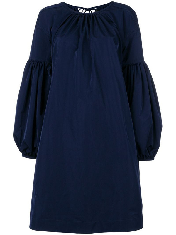 Calvin Klein 205W39nyc bell-sleeved dress in blue