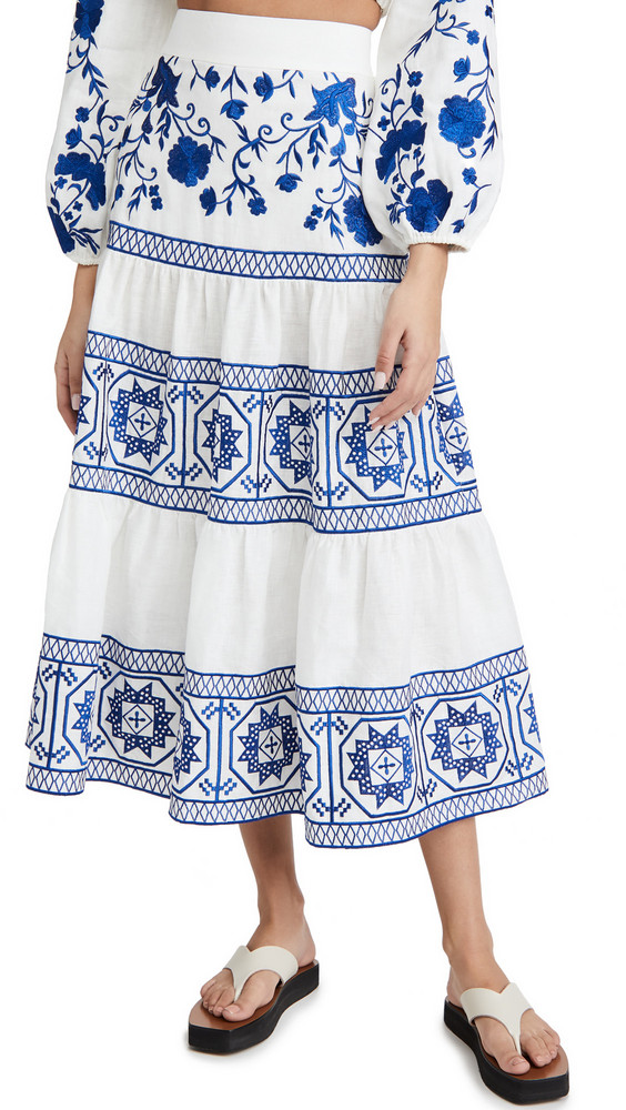 Alexis Deena Skirt in blue