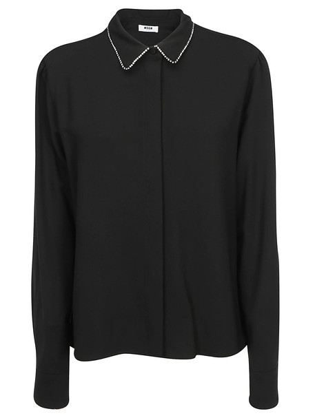 Msgm Shirt in black