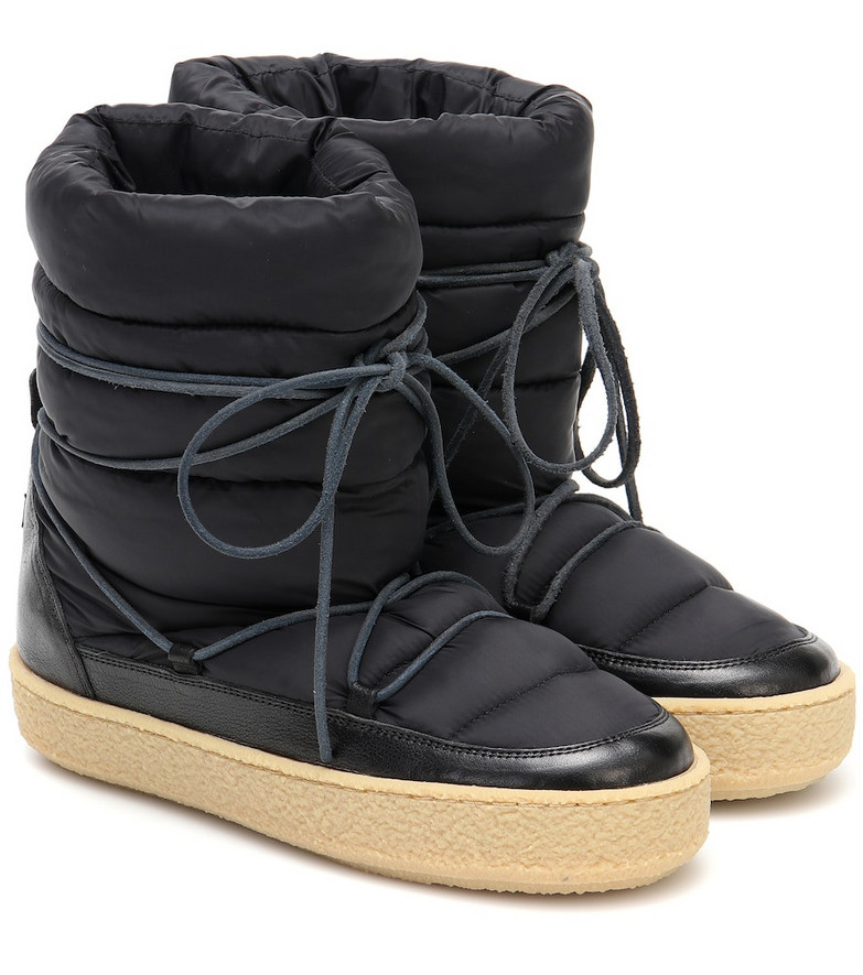 Isabel Marant Zimlee padded snow boots in black
