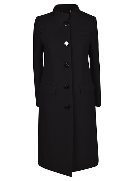 Givenchy Single Breasted Coat in black