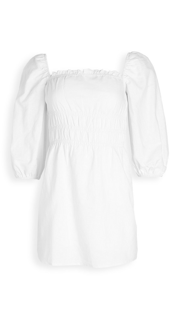 Charlie Holiday Boheme Dress in white