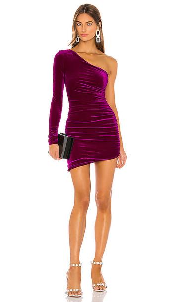 NBD Ginnie Mini Dress in Purple
