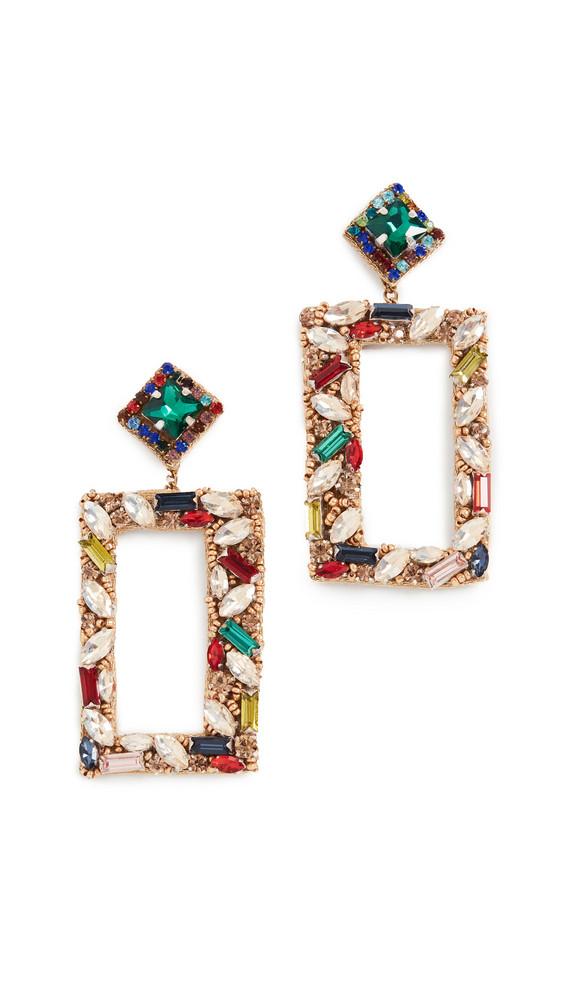 Deepa Gurnani Deepa By Deepa Gurnani Avalon Earrings in multi