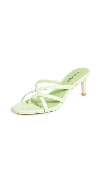 Jeffrey Campbell Ficelle Sandals in mint