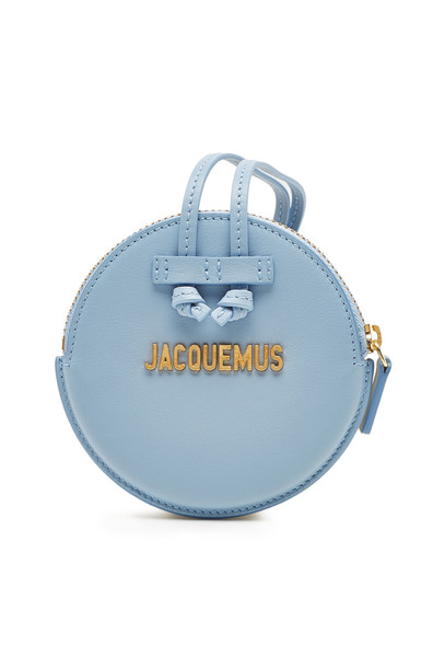 Jacquemus Leather Le Pitchou Coin Purse  in blue