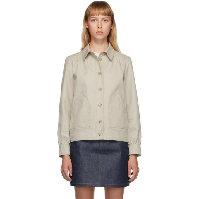 A.P.C. A.P.C. Beige 70s Double Jacket