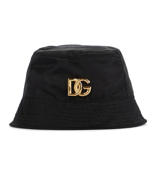 Dolce & Gabbana Logo bucket hat in black