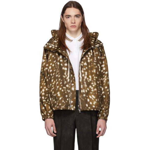 Burberry Brown Bambi K Way Coat