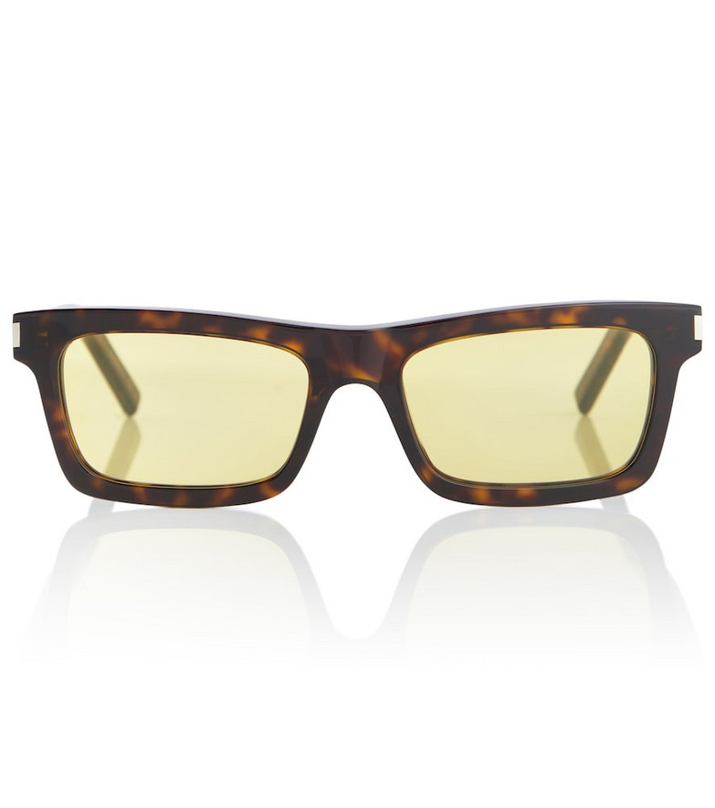 Saint Laurent Betty oval sunglasses in brown