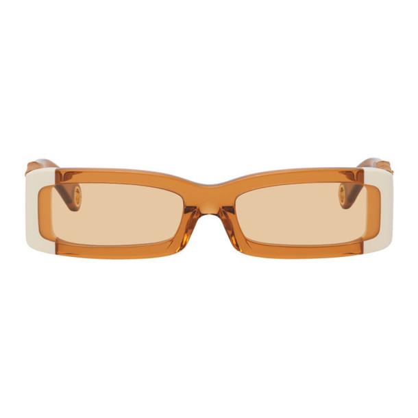 Jacquemus Orange Les Lunettes 97 Sunglasses in multi