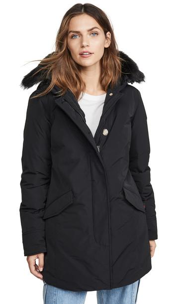 Woolrich W's Shearling Arctic Parka in black