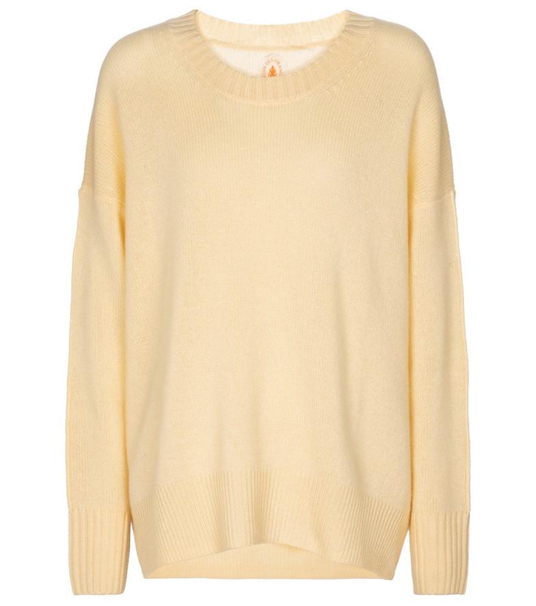 Jardin des Orangers Cashmere sweater in yellow